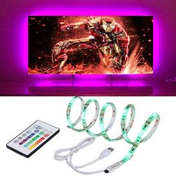 LED TV Backlight 4m/13.12ft RGB LED Light Strips for 65-70 i