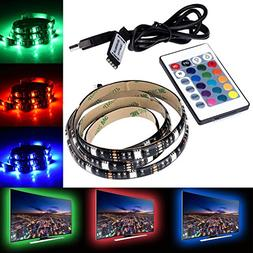 LED TV Backlight,SMY USB LED Strip Light,RGB Multi-Colour LE