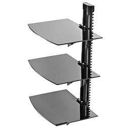 Mount Factory - Adjustable Wall Mount / Glass Floating DVD C