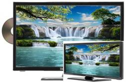 "NEW! Sceptre E195BD-SR 19"" Class HD LED TV Built-in DVD Play"