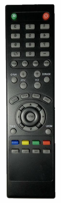 New Replacement SYLVANIA Remote Control for Sylvania LED LCD