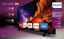 "Philips 43PFL5602 43"" Class 4K  Smart LED TV"