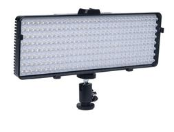 Polaroid 320 LED Video Light –w/ Stepless Variable Color T