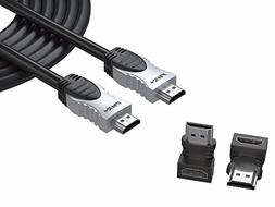 Pwr+ 25 Ft 4K HDMI-Cable - for Sony Samsung RCA Insignia VIZ