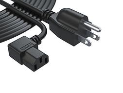 Pwr 3 Prong LCD TV AC Power Cord Cable: UL Listed Extra Long