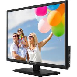 Sceptre-1080P-LED-TV 24-INCH Class FHD E246BV-F HDTV Slim Fl