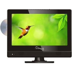 """SuperSonic 13.3"""" LED 1080p HDTV w/ HDMI Built-in DVD Player"""