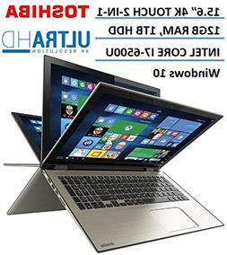 "Toshiba Satellite Radius 2-in-1 5.6"" 4K Ultra HD Touchscreen"