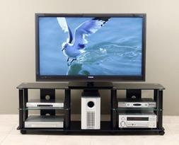 TransDeco 65 inch TV Stand with Casters for 40-70 inch LCD/L