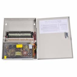 VideoSecu 18 Channel Port Output 12V DC Auto Reset CCTV PTC