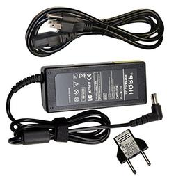 HQRP 19V AC Adapter for LG 24MP57HQ 24MP57VQ 24MP67HQ 24MP67
