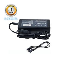 ABLEGRID 65W AC DC Adapter Charger Power Supply Cord for VIZ