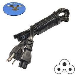HQRP 5ft AC Power Cord for LG 47LN5200 47LA7400 47LA6950 47L