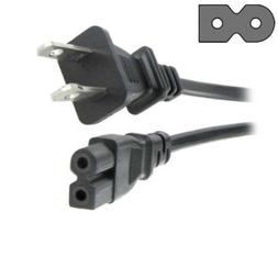 HQRP AC Power Cord for PHILIPS 19PFL4505D/F7 19PFL4505D 22ME