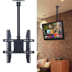 Adjustable Flip Down Pitched Roof Ceiling TV Mount up to 55""