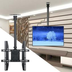 Adjustable Tilting TV Ceiling Mount Bracket Fits MostLCD LED