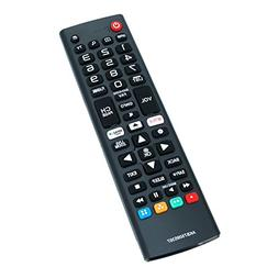 New AKB75095307 Replace Remote Control Compatible with LG LE