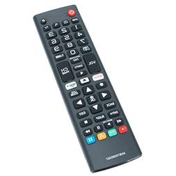 New AKB75095307 Replacement Remote fit for LG TV 65UJ6540-UB