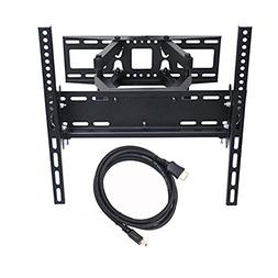 VideoSecu Dual Arm TV Wall Mount Bracket 16 inch Extension f