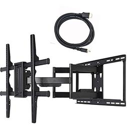 VideoSecu Full Motion Swivel TV Wall Mount Bracket for Samsu