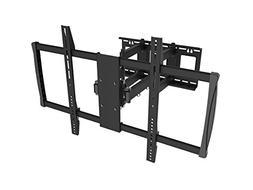 Black Full-Motion Tilt/Swivel Wall Mount Bracket for RCA LED
