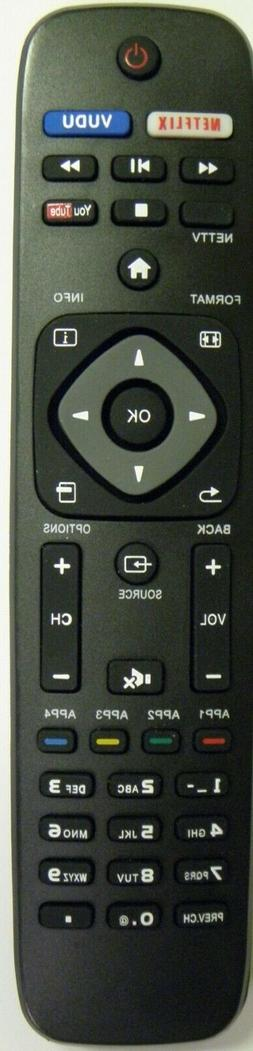 Brand New Replacement PHILIPS NH500UP Smart TV Remote-Replac