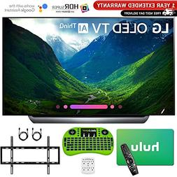 "LG 65"" C8 OLED 4K HDR AI Smart TV  with Bonus Hulu $100 Gift"