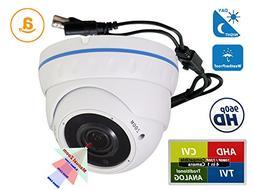 Evertech CCTV Security Camera - 1200 TVL, 36 IR LED Color, 2