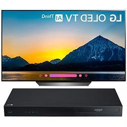 """LG 55"""" Class B8 OLED 4K HDR AI Smart TV 2018 Model  with LG"""