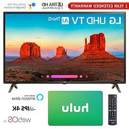 "LG 49"" Class 4K HDR Smart LED AI UHD TV w/ThinQ Gift Card &"