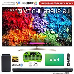 LG Class 4K HDR Smart LED AI UHD TV with ThinQ 2018 Model wi
