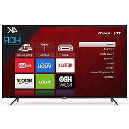 "TCL 55"" Class 4K  Roku Smart LED TV"