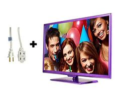 """32"""" Class HD  LED TV with Built-In DVD Player in Purple Plus"""