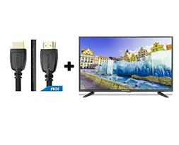 """32"""" Class HD  LED TV  Plus HDMI 2.0 Cable with Ethernet High"""