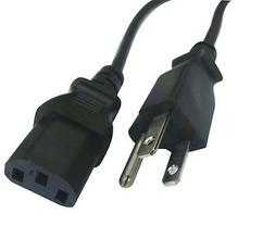 Lot of 20 Computer PC Monitor 3 Prong Power Cord Cable IEC32