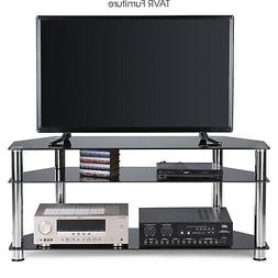 Corner TV Stand for Most 32-55 Inch Plasma LCD LED OLED Flat
