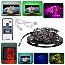 OGXLED CRI 90 5V USB RGB LED TV Backlight Strip Contorller K
