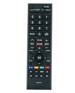 CT-8037 Remote Control for Toshiba TV 40L3400 40L3400U 50L34