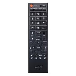 Aurabeam CT-90325 Replacement TV Remote Control for Toshiba