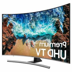 "Samsung Curved 55"" Inch Class  HDR 4K UHD LED LCD TV UN55NU8"