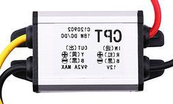 Yeeco DC DC Buck Voltage Converter Reducer 12V to 9V 2A 18W