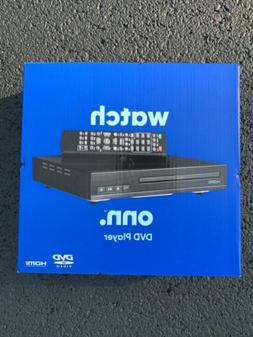 Onn DVD Player with RCA Cables and Remote Control NEW