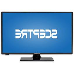 Sceptre E195BD-SRR 19-Inch 720P LED TV, True Black  Built-in