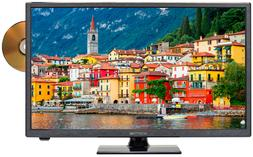 "Sceptre E246BD-SR 24"" Class - HD LED TV with Built-in DVD Pl"