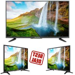 """Flat 32"""" LED TV 720P High-Definition Video Clear Audio HDMI"""