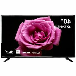 Flat Screen TV LED HDTV 1080p HDMI USB Ports with Energy Sta