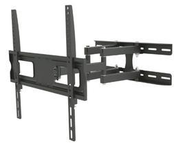 FULL MOTION TILT DUAL ARM LCD LED TV WALL MOUNT BRACKET 32 4