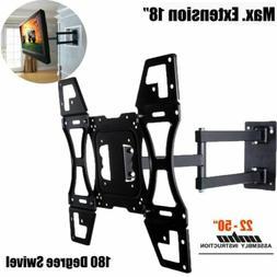 """32""""-50 """" LCD LED Plasma Flat Tilt Full Motion Swivel TV Wall"""