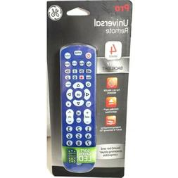 GE 4 Device Universal Remote, Backlit, Works with Smart TVs,