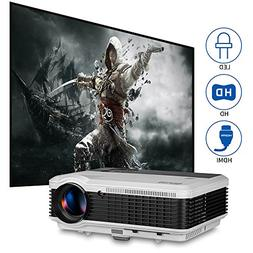 EUG 3900 Lumens LED LCD Home Video Projector Cinema Theater